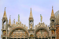 St. Mark's Cathedral, Detail Royalty Free Stock Photography