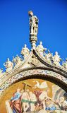 St. Mark`s Cathedral, detail, Venice, Italy, Europe Stock Photos