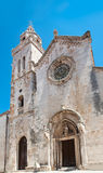 St. Mark's Cathedral in Korcula Royalty Free Stock Photography
