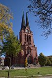 St. Mark's Church in Chemnitz, Germany Stock Image