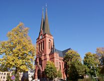 St. Mark's Church in Chemnitz, Germany Royalty Free Stock Photos