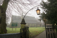 St Mark's church in the fog Royalty Free Stock Images