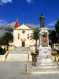 St. Mark's Church in Makarska, Croatia Stock Image