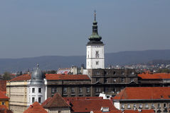 St. Mark`s Church in the Upper Town of Zagreb Stock Photography