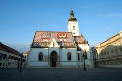 St Mark's Church in Zagreb, Croatia Stock Photo