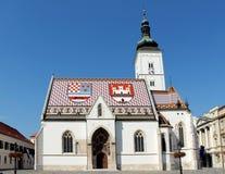 St. Mark s Church in Zagreb, Croatia Royalty Free Stock Photos