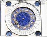 Free St Mark`s Clock Tower On Piazza San Marco, Clock Face, Venice, Italy Royalty Free Stock Photo - 103290075