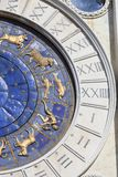 St Mark`s Clock tower Torre dell`Orologio on Piazza San Marco,Venice, Italy Royalty Free Stock Photos