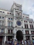St Mark`s Clocktower, St Mark`s Basilica, Piazza San Marco, building, landmark, town, metropolis stock photography