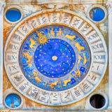 St Mark & x27; s Clocktower Veneza, Italy foto de stock royalty free