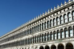 St- Mark` s Quadrat in Venedig stockfotos