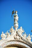 St. Mark`s Square basilica, detail, Venice, Italy Royalty Free Stock Photography