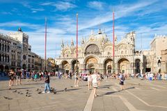 Free St Mark S Square In Venice On A Sunny Summer Day Stock Photo - 101139020