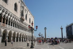 St Mark's Square or the Piazza San Marco in Venice Stock Image