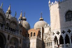 St Mark`s Square,Venice, Italy stock images