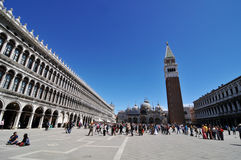 St. Mark's Square, Venice Royalty Free Stock Photos