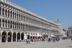 St. Mark's Square, Venice, Italy Stock Images