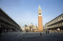 St. Mark's Square, Venice, Italy Royalty Free Stock Photo