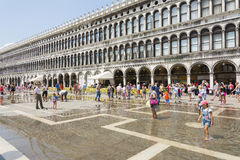 St Mark's Square in Venice Stock Images