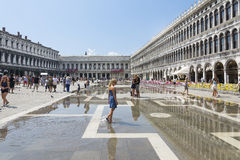 St Mark's Square in Venice Stock Photography