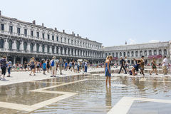 St Mark's Square in Venice Royalty Free Stock Images