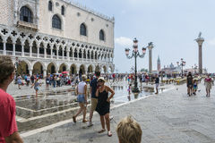 St Mark's Square in Venice Royalty Free Stock Photo