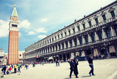 St. Mark's Square in Venice Stock Photos