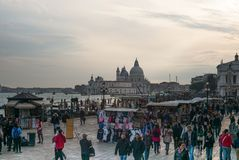 St. Mark`s Square, Venice, Italy. stock photos