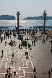 St. Mark square, view from above Stock Image