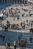 St. Mark square, view from above Royalty Free Stock Images