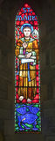 St. Mark Stained Glass royalty free stock photo