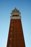 St Mark's Square and tower against the blue sky, Venice, Italy Royalty Free Stock Images