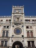 St Mark zegarowy wierza w Wenecja Fotografia Stock