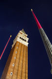 St. Marks Basilica tower Stock Photos