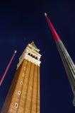 St. Marks Basilica tower Stock Photos