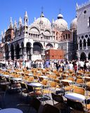 St Marks Basilica, Venice. Royalty Free Stock Photo