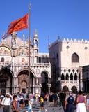 St Marks Basilica, Venice. Royalty Free Stock Image