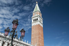 St Marks bell tower Royalty Free Stock Photos