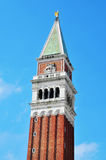 St Marks Campanile in Venice, Italy Royalty Free Stock Images