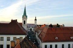 St Marks Church. In Zagreb Stock Photo