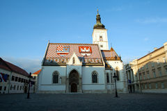 St Mark's Church in Zagreb, Croatia Stock Photo