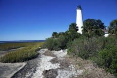 St. Marks Lighthouse Stock Photography
