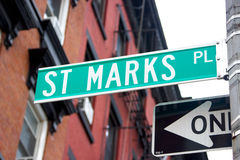St. Marks Place, NYC Stock Photography