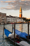St. Marks reflects on the Grand Canal in Venice, Italy Stock Photos