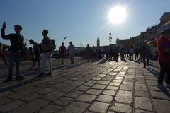 St. Marks Square in Venice. Italy. royalty free stock images