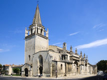 St Martha's Collegiate Church, Tarascon Stock Image