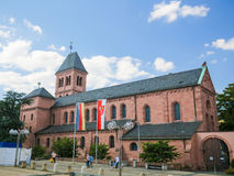 St Martin's kościół w dżdżownicach, Niemcy Zdjęcie Stock
