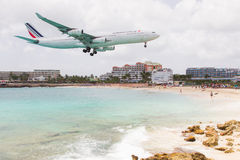 ST MARTIN, ANTILLES - July 19: the tourist office and Air France Stock Images