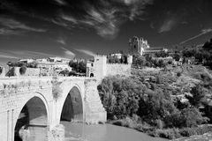 St. Martin bridge. Royalty Free Stock Photos