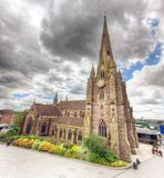 St Martin in the Bull Ring church in Birmingham, England, the UK. Stock Photo